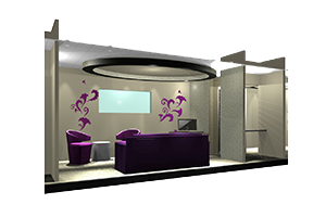 ADH Mobile Units Interior Rendering
