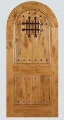 Rustic Arch Radius Head Doors