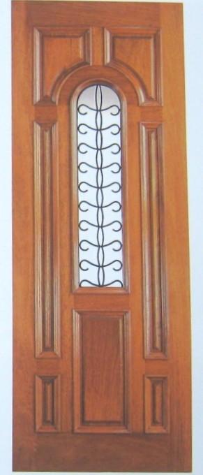 Wrought Iron Insulated Doors