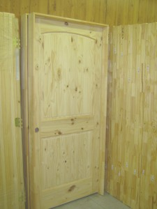 Knotty Pine Interior