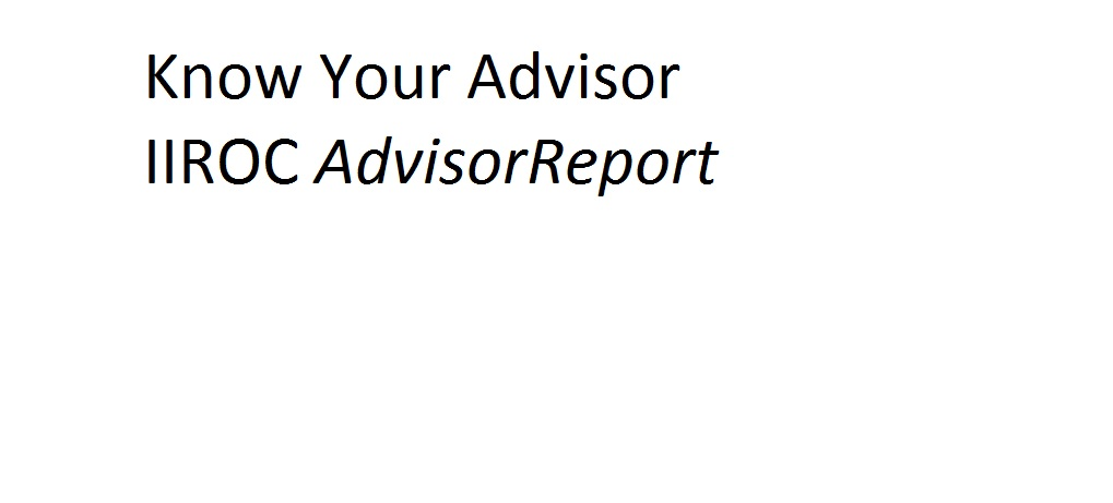 know-your-advisor