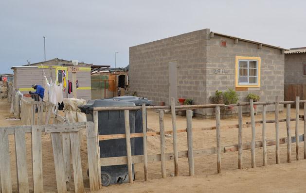 A half-house in Mondesa