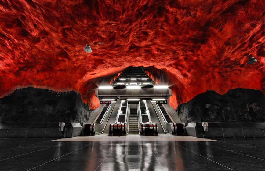 stockholm-subway-station