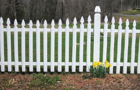 WHITE PICKET