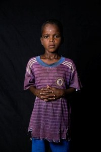 "Chadian refugee Tahar Mohamed, 8, poses for a picture in Darnaim refugee camp, Lake Chad region, Chad, in this handout picture taken August 4, 2016. Nearly half a million children around Lake Chad face ""severe acute malnutrition"" due to drought and a seven-year insurgency by Islamist militant group Boko Haram in northeastern Nigeria, UNICEF said on Thursday.   UNICEF/Tremeau/Handout via REUTERS    ATTENTION EDITORS - THIS IMAGE WAS PROVIDED BY A THIRD PARTY. EDITORIAL USE ONLY."