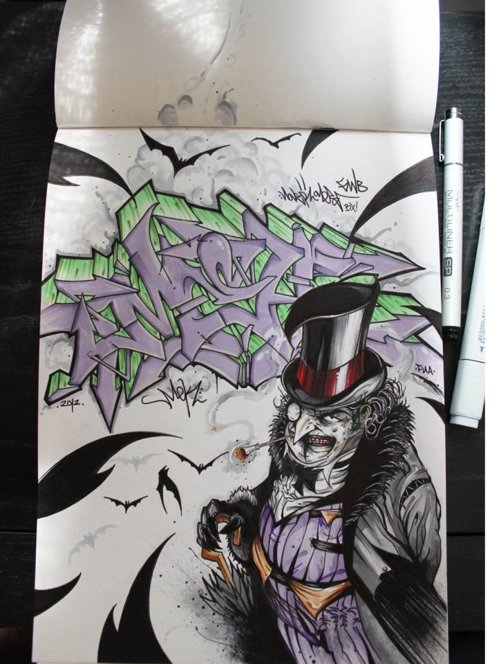 "The Penguin ""Nover"" in Blackbook, 2012."