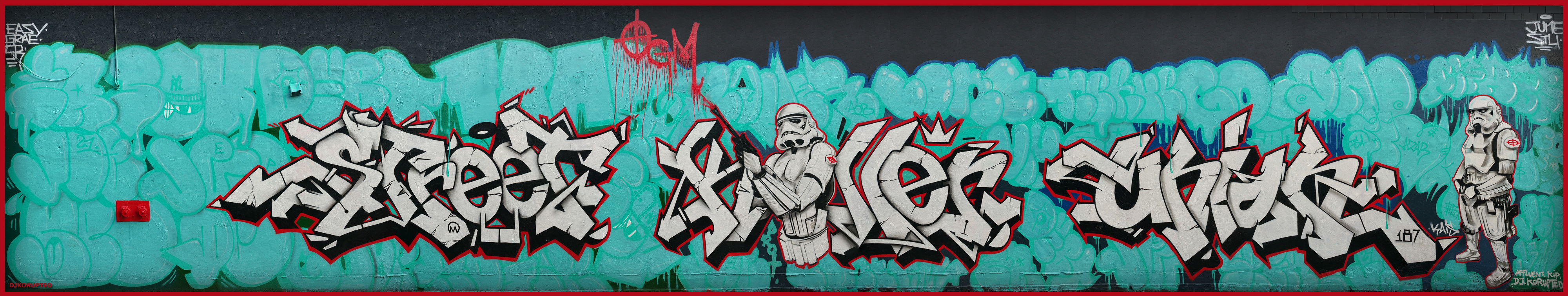 Stormtroopers Wall Production, Uptown NYC, 2014.