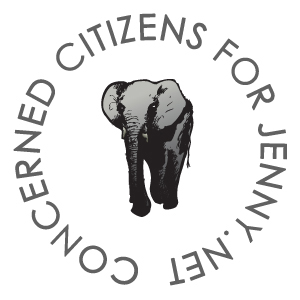 Save Jenny Now Concerned Citizens for Jenny, a grass-roots Dallas Metroplex citizens group, advocates for retiring African elephant Jenny to The Elephant Sanctuary, a 2,700 acre natural habitat refuge. We are trying to save elephant Jenny now.