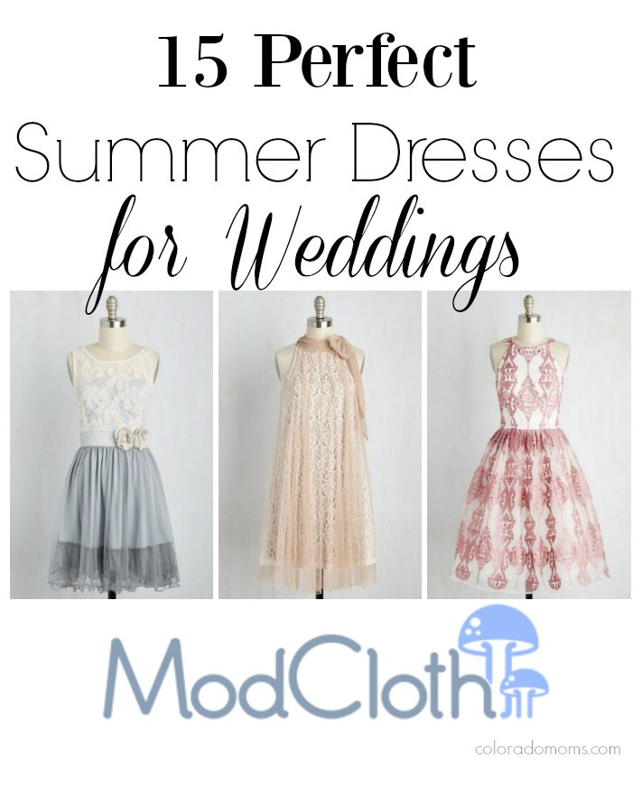 15 Perfect Summer Dresses for Weddings