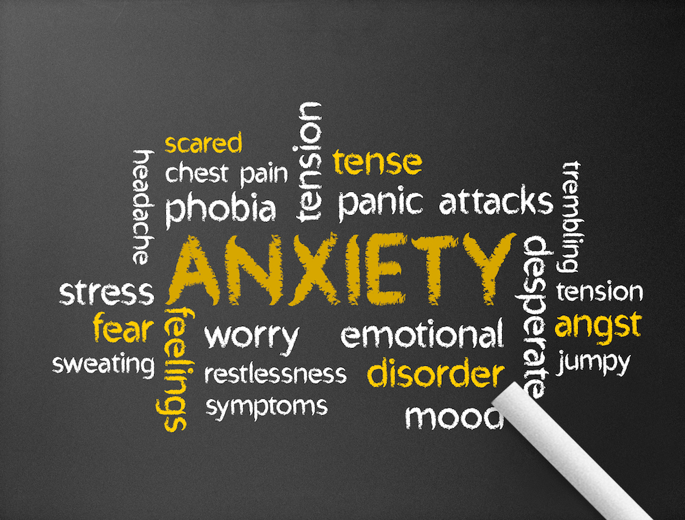 What does anxiety look like in a child?
