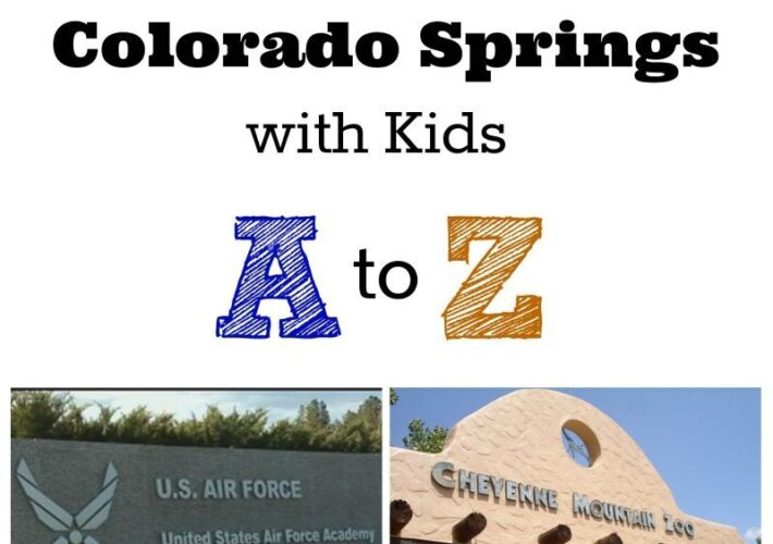 Colorado Springs with kids A to Z