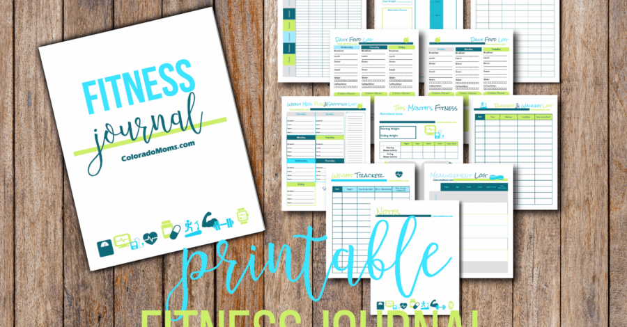 photo regarding Printable Fitness Journals identify No cost Printable Health Magazine