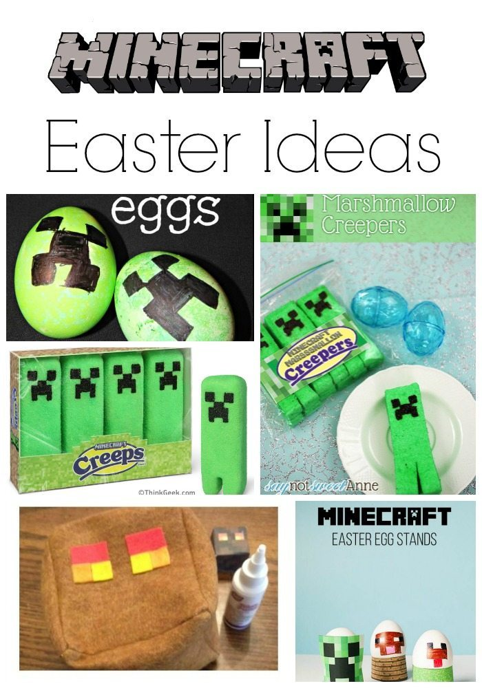 Minecraft Easter Ideas