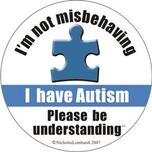 I'm not misbehaving I have Autism