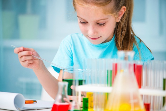 STEM camps with Spangler science
