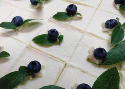 Blueberry Island Cake