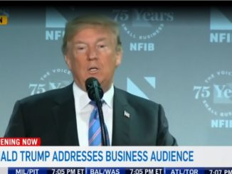 Donald Trump talks about Canadians and shoes.
