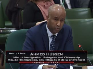 Ahmed Hussen told the Commons immigration committee that he used the term illegal and that it was accurate.