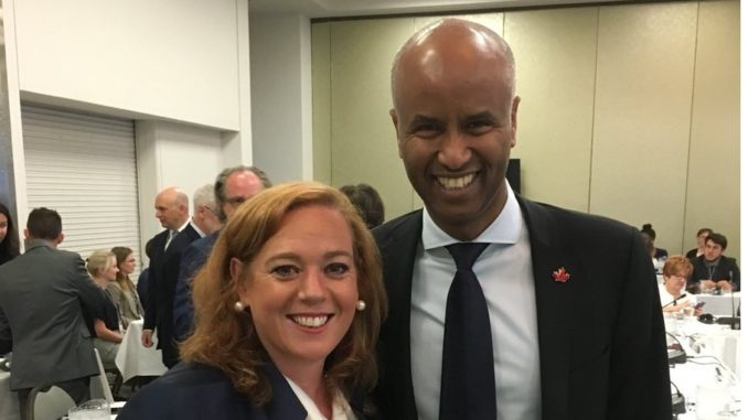 """Ahmed Hussen called Lisa MacLeod """"not Canadian"""""""