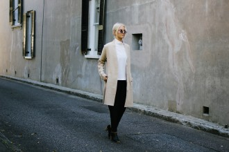 J. McLaughlin Long Cardigan Ryann Sweater // Charleston Fashion Blogger Dannon Like The Yogurt