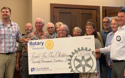 Rotary Gives $20K To Help Feed Area Youth