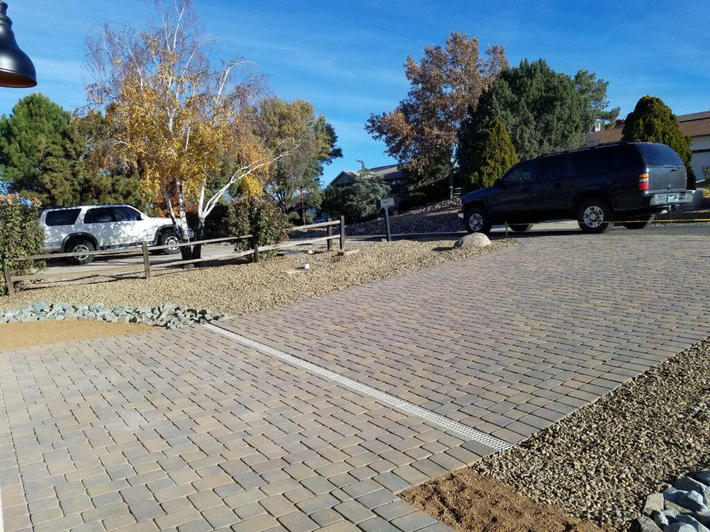 Paverd driveway
