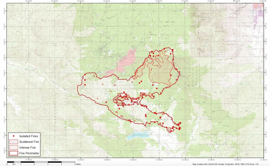 Cranston Fire Map - July 2018