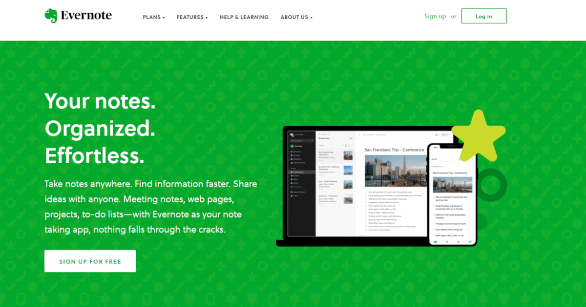 Evernote, the one place to keep everything