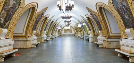 moscow subway pictures