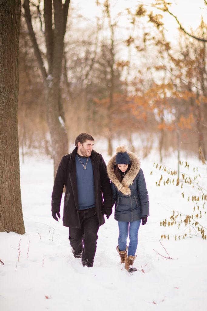 Jessica & David Engagement - Winter-9180