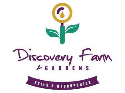 Urban Farming Institute's Discovery Farm and Gardens logo