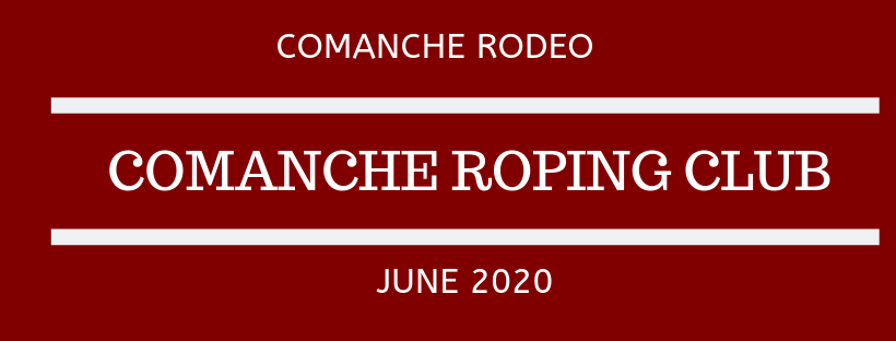 Comanche Co. Roping Club