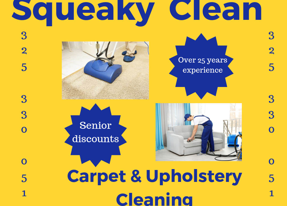 Squeaky Clean Carpet & Upholstory Cleaning