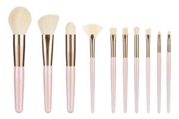2019 Hot selling 10 pcs makeup brush pearly brush Professional high quality Synthetic hair Makeup Brushes Kit from BeauDay