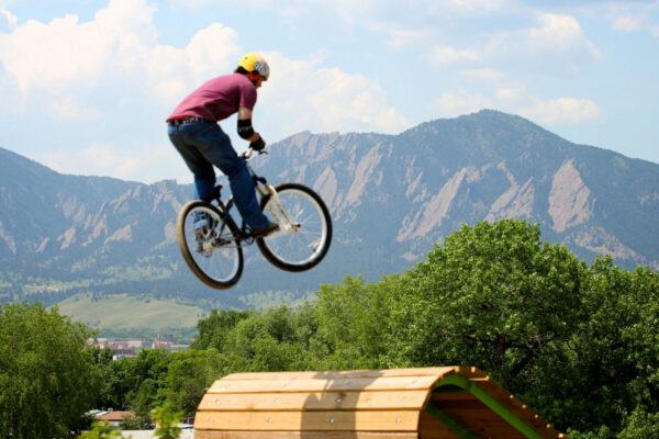 Valmont Bike Park - Big Air Jumps