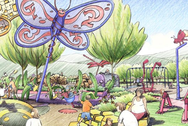 Buffalo Creek Park Playground Rendering