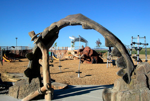 Fossil Creek Park - Theme Design - Shark Jaw Archway
