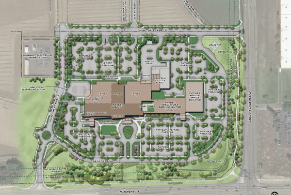 UCHealth Longs Peak Hospital - Master Plan