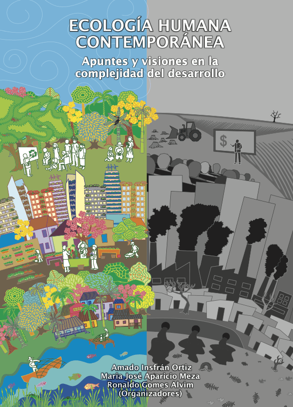 Capa de Livro: Ecología Humana Contemporánea