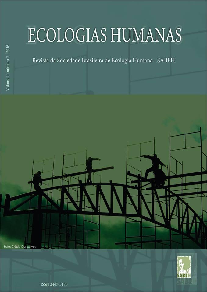 Capa de Livro: Revista Ecologias Humanas - Vol. 2 nº. 2 - 2016