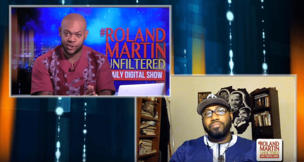 Dr. Heber Brown was interviewed on Roland Martin Unfiltered.