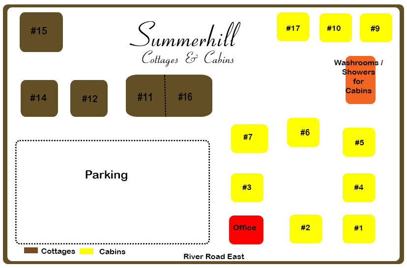 Map of Summerhill
