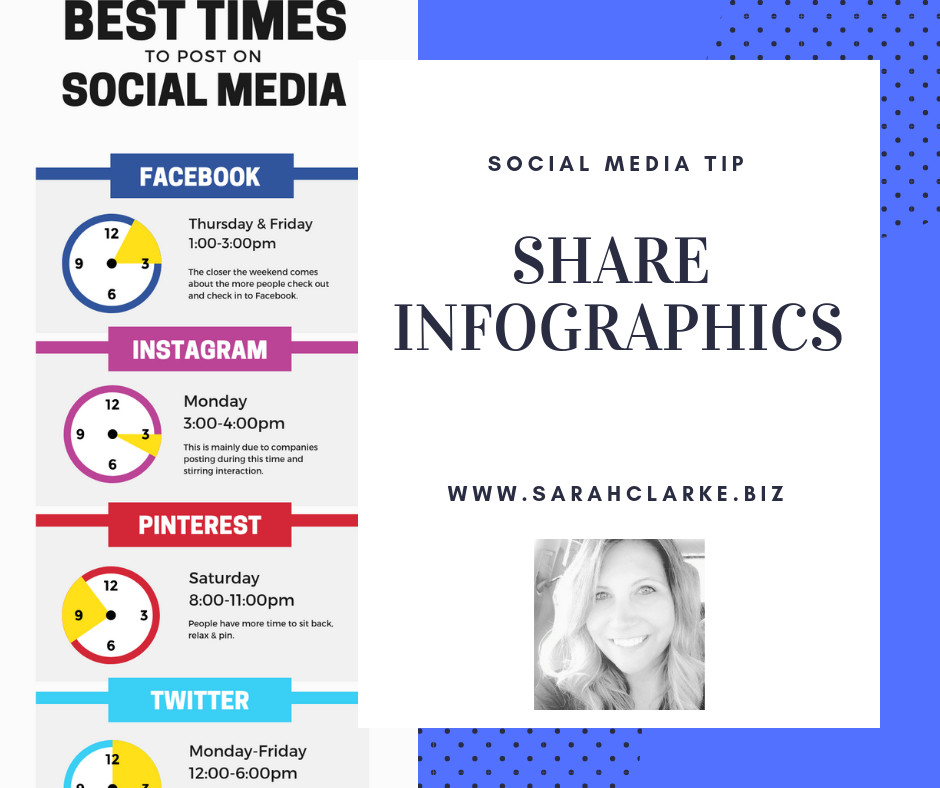 social media tip share infographics