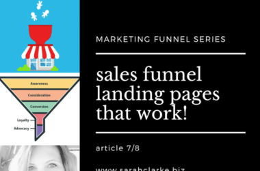 sales funnel landing pages that work