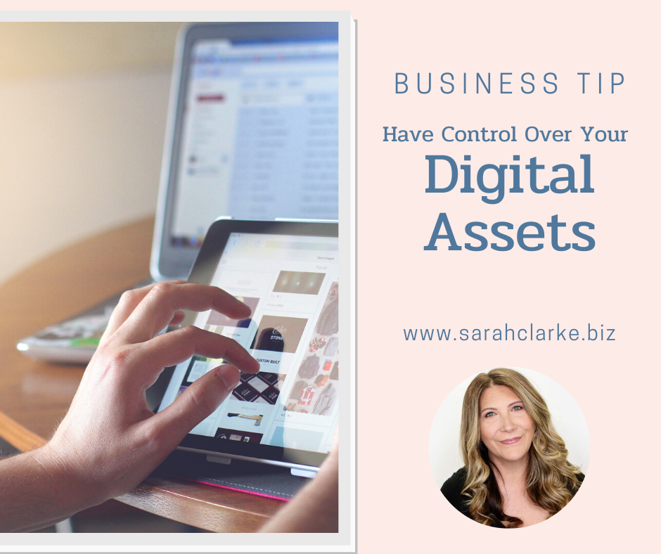 have control over your digital assets