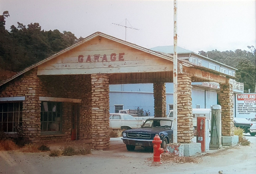 Old Stone Gas Station