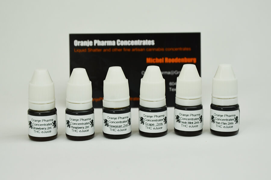 variety pack of THC oils