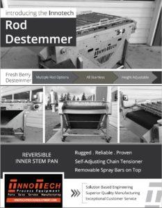 Rod Destemmer Line Card
