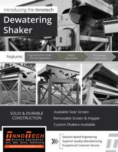 Dewatering Shaker Line Card