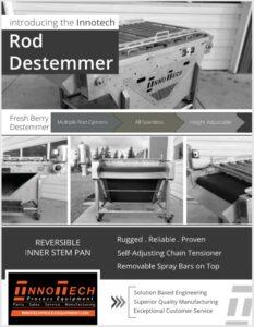 Used Rod Destemmer